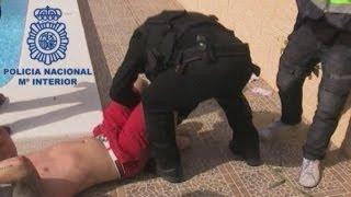 Dramatic arrest: British