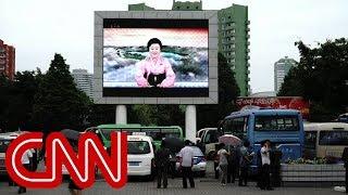 North Korea state TV praises Kim's summit with Trump