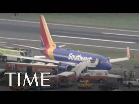 Southwest Airlines Flight Makes Emergency Landing After Engine Explodes | TIME