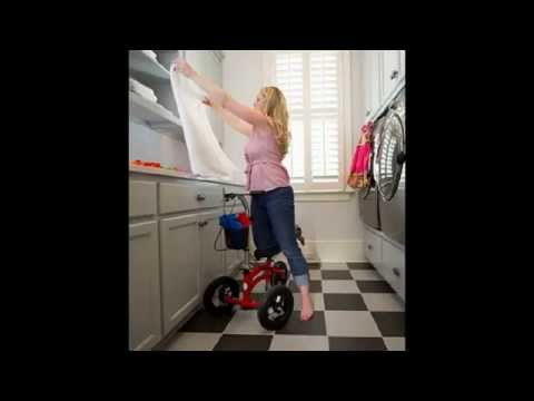 Knee Walker Scooter | Small Adult Short All Terrain KneeRover Review