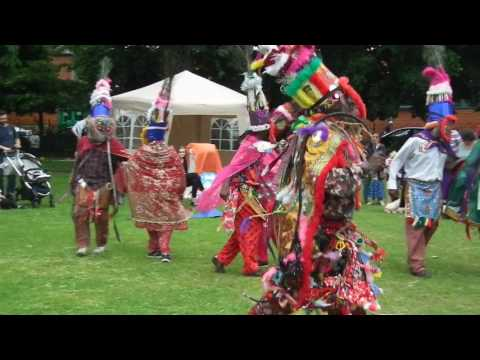 Picnic in the Park African Caribbean Cultural Dance Masquerade Leicestershire UK June 10 2017