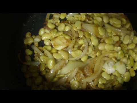 Haitian Rice w/ Black mushroom & snow crab in sauce part 2