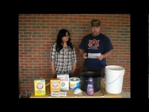 Homemade DIY Detergent and Fabric Softener
