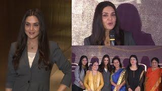 Preity Zinta At Launch Of Menopausal Women Freelady