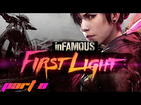 InFAMOUS: First Light - Part 8 - Taggin' the trucks