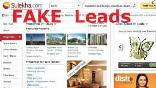 Sulekha.com fake leads commitment-beware before purchase record all commitments