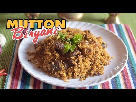 Mutton Biryani Recipe   How to Make Mutton Biryani in Pressure Cooker   Yummy Nepali Kitchen