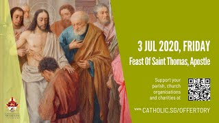 Catholic Weekday Mass Today Online -  Friday, Feast of St Thomas, Apostle 2020