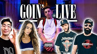 """YouTubers React To My New Song """"Goin' Live"""""""