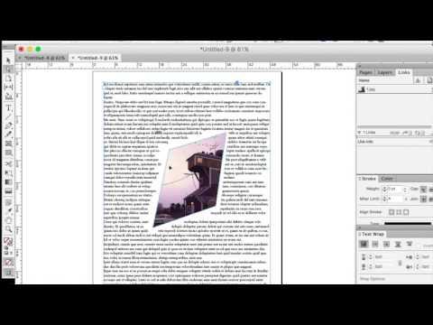 Manipulating Frames in InDesign