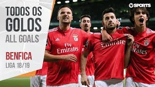 Benfica: Os 103 Golos (Liga 18/19)
