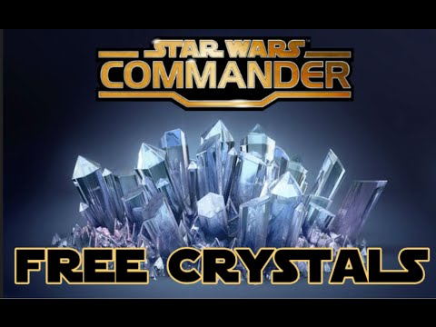 How to get Free Crystals in Star Wars Commander!