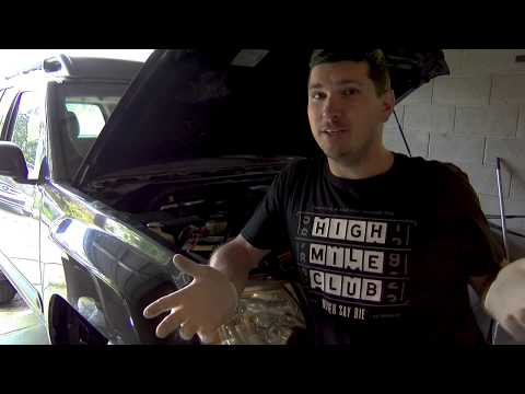 Removing Your Windshield Washer Fluid Tank