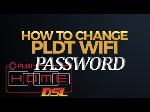 How to Change PLDT Wifi Password