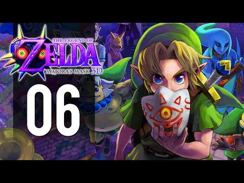 The Legend of Zelda: Majora's Mask 3DS - Part 6 - Woodfall Temple (Gameplay Walkthrough)