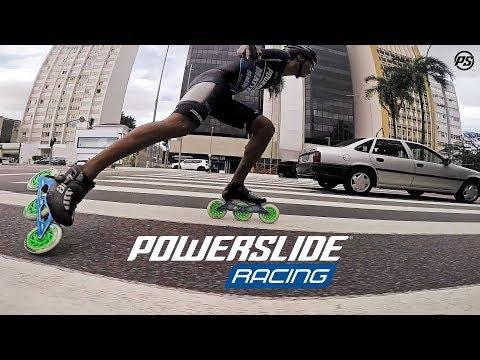 I love to skate FAST - Hamilton Patiño Dorado for Powerslide Racing Inline Skates