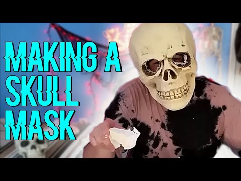 Making a Skull Mask - RadBoySolo