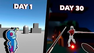 Making an Online 3D Multiplayer Game in 30 days using Unity
