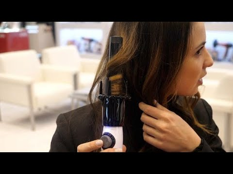 Kiss curling iron makes curling much easier