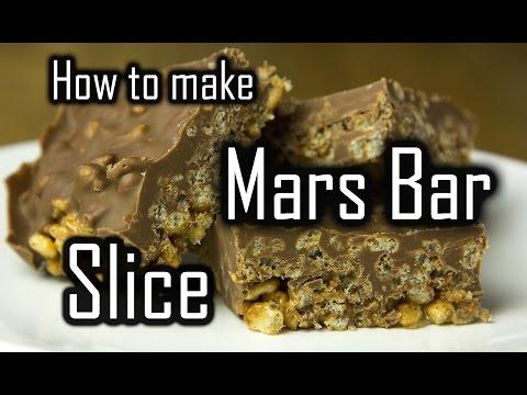 How to make Mars Bar Slice