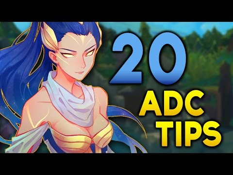 20 ADC TIPS for LANE that are Lesser Known (League of Legends)