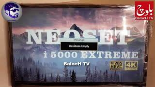 Neoset I5000 Extreme 4K 1507g New Update PowerVu Ok Smartcam Working