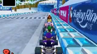 Mario Kart DS - Giant Super Speed Yoshi