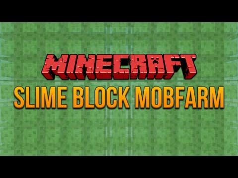 Minecraft 1.8: Slime Block Mobfarm (Mob Spawner)