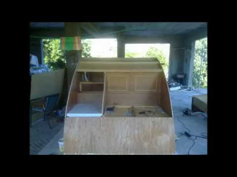Homemade mini caravan (for buggy) Greece