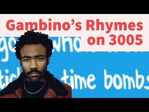 Rap Tips from Childish Gambino's 3005- Rhyme Schemes Analysis