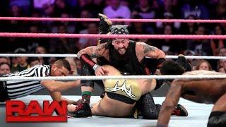 Team Lucha Lucha vs. The Zo Train - 10-Man Tag Team Match: Raw, Oct. 23, 2017