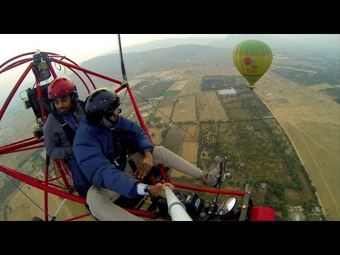 Extreme Powered Parachute flying