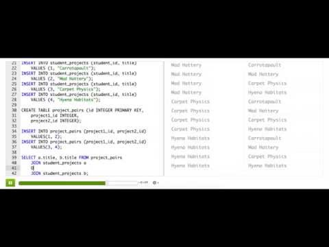 Combining multiple joins | Computer Programming | Khan Academy