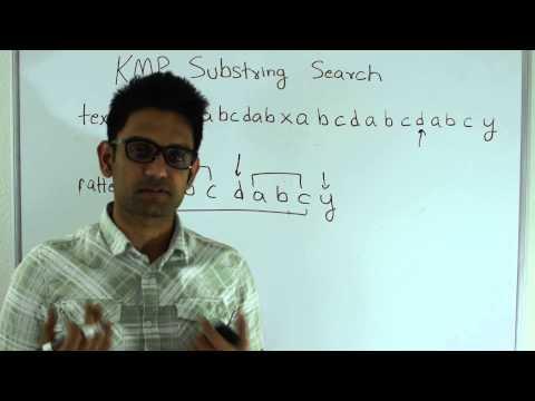 Knuth–Morris–Pratt(KMP) Pattern Matching(Substring search)