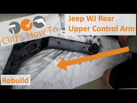 Grand Cherokee Rear Upper Control Arm Bushing Install