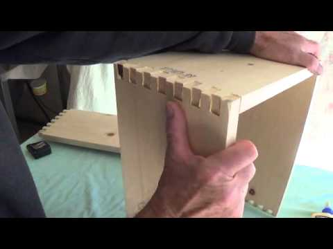 Constructing a Finger-Jointed Pine Amplifier Cabinet.....Part 1