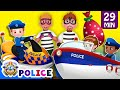 ChuChu TV Police Chase Thief In Police Boat Save Huge Surprise Egg Toys Gifts From Creepy Ghosts