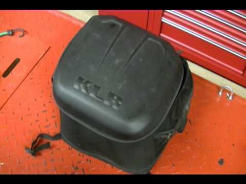 Review Kawasaki KLR 650 Motorcycle Soft Top Case Trunk or Tail Bag K57003-101A