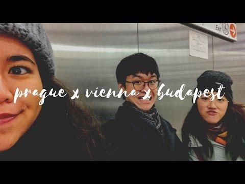 Winter in Prague, Vienna & Budapest ❄️