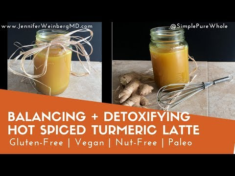 Hot Spiced Vegan Turmeric Latte {Gluten-Free, Nut-Free, Paleo, Soy-Free , Whole30}