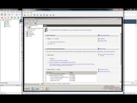VMware View 5.1 Nested Virtualization - install and Configure AD DNS DHCP