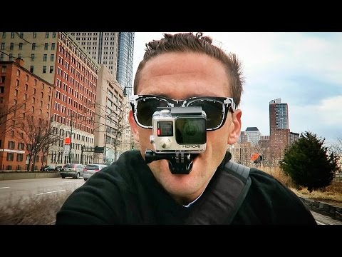 Hold a GoPro in your Teeth