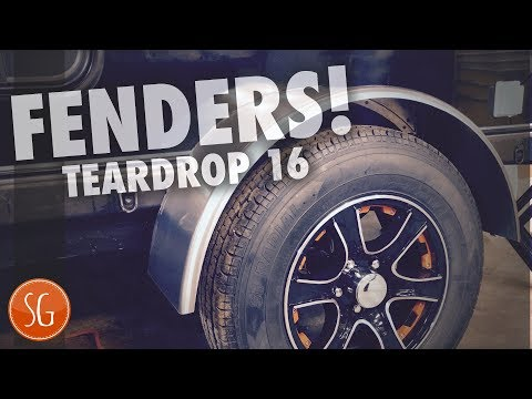 Adding fenders | How to build a Teardrop Trailer #16