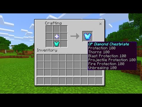 HOW TO GET OP ITEMS in Minecraft Pocket Edition (No Mods)