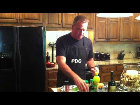 Ahi Tuna video 3.  Making the sauce