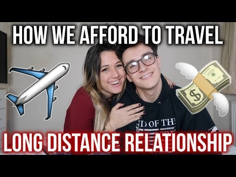 HOW WE AFFORD TO TRAVEL!! (LONG DISTANCE RELATIONSHIP)