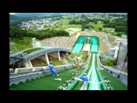 Hakuba Ski Jumping Stadium in Japan