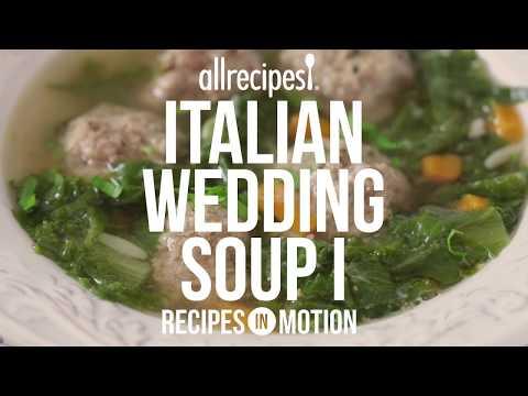 How to Make Italian Wedding Soup   Soup Recipes   Allrecipes.com