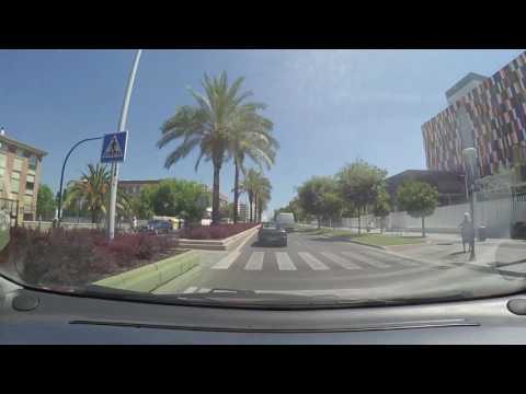 Parking in Cordoba Mosque coming from Sevilla - Malaga