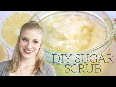 DIY Sugar Body Scrub